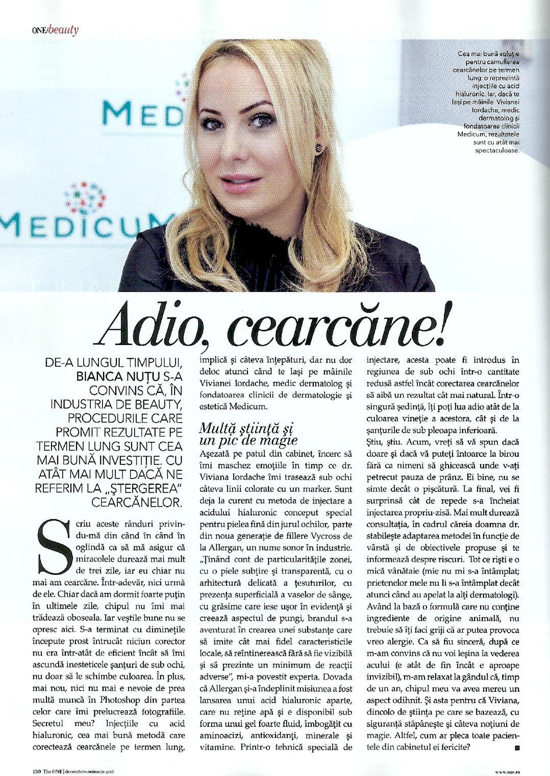 Doctor Viviana Iordache